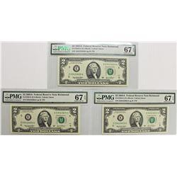 3 PIECE 2003 A $2.00