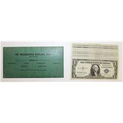 (13) 1935E $1.00 SILVER CERTIFICATES