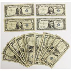 (34) 1957 $1.00 SILVER CERTIFICATES