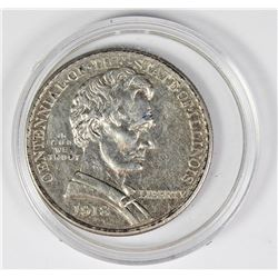 1918 LINCOLN HALF DOLLAR COMMEMORATIVE