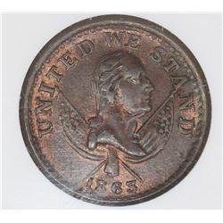 1863 NY BROAS BROTHERS TOKEN