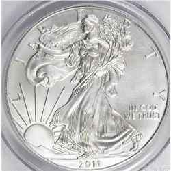2011-S AMERICAN SILVER EAGLE