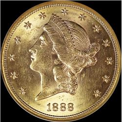 1888-S $20 GOLD