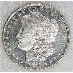 1878 7/8F MORGAN SILVER DOLLAR
