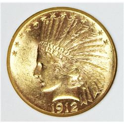 1912 $10.00 GOLD SCARCE DATE