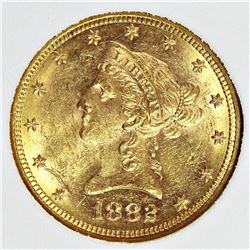 1882 $10.00 GOLD