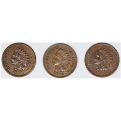 (3) NICE INDIAN HEAD CENTS