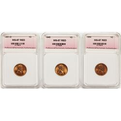 GROUP OF LINCOLN CENTS