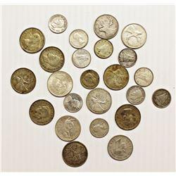$4.35 FACEVALUE CANADA SILVER COINS