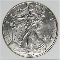 1997 AMERICAN SILVER EAGLE