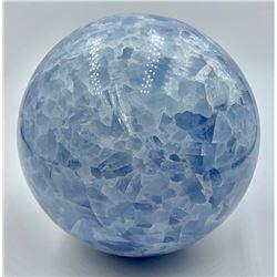 BLUE AGATE SPHERE