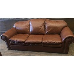 LEATHER LIVING-ROOM FURNITURE