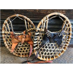 VINTAGE BEAR-PAW SNOW SHOES