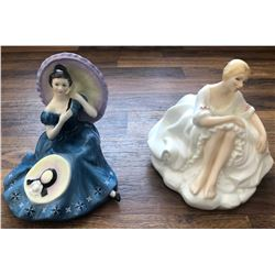GR OF 2 ROYAL DOULTON FIGURINES