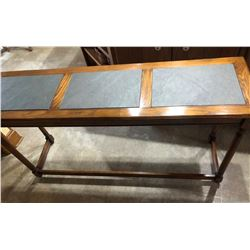 HALL TABLE WITH SLATE TOP