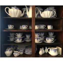 SHELLEY CHINA SET - DANITY BLUE