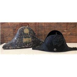 BRITISH MILITARY BICORN HAT - HOBSON & SONS