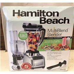 HAMILTON BEACH BLENDER - AS NEW