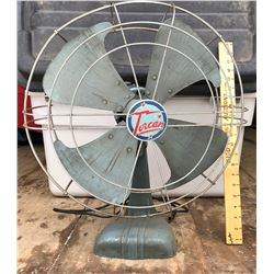 VINTAGE TORCAN COUNTER-TOP METAL FAN