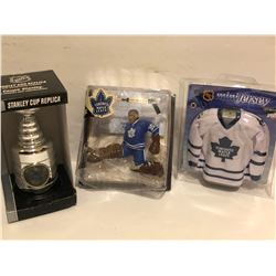 GR OF 3, TORONTO MAPLE LEAFS KEEPSAKES - AS NEW