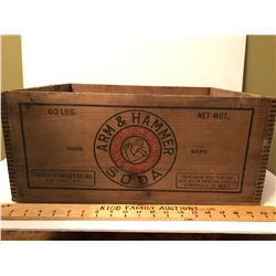 ARM & HAMMER SODA CRATE