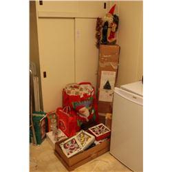 Christmas Tree & Ornaments A