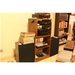 Entertainment units, Pioneer, Sony & Yamaha stereo system B