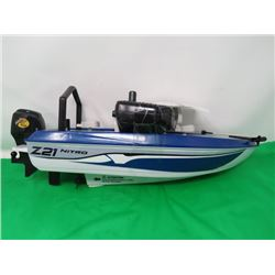 REMOTE CONTROL BOAT (NITTRO FISHING)