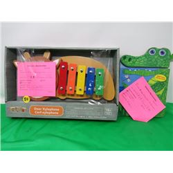 CHILDRENS XYLEPHONE AND ALLIGATOR BOOK