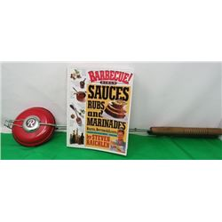 CAMPFIRE COOKING UTENSIL AND BBQ COOKBOOK