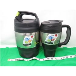 2 INSULATED BUBBA CONTAINERS (1 & 2.1 LTR)