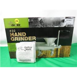 #32 MEAT GRINDER WITH A #12 GRINDER PLATE INCLUDED