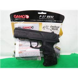 GAMO BB/PELLET PISTOL (430 FPS) *P27 DUAL*