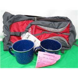 ECLIPSE HYDRO-PACK AND 2 ENAMEL CUPS