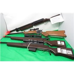 LOT OF 4 TOY RIFLES