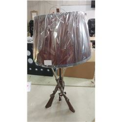 SHOTGUN TABLE LAMP