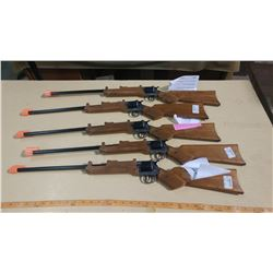 LOT OF FIVE OLD TEX TOY RIFLES
