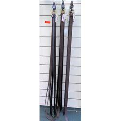 Qty 12+ Men's Size 60-64 Evado Kazelli & Genuine Leather Belts
