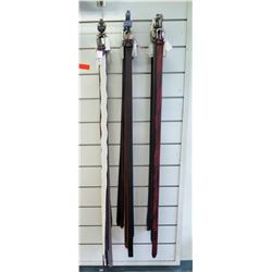 Qty 12+ Men's Size 44-48 Evado Kazelli, Aquarius, Outfitter Belts