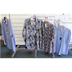 Qty 4 Aloha & Polo Shirts by Sloane, 7 Downie St. Size 7XL
