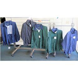 Qty 5 Windbreaker Jackets by Tri-Mountain Size 2XL