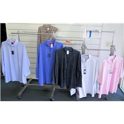 Qty 6 Men's Shirts by Proper, Indygo Smith, North 564 etc Size 6XL