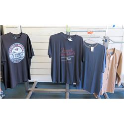 Qty 3 Men's T-Shirts by Replika, North 564 & Indygo Smith Shirt Size 3XL