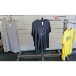 Qty 2 Men's T-Shirts by Replika, North 564 & D555 Tank Size 1XL-2XL