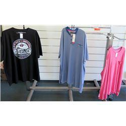 Qty 3 Men's T-Shirts by Headlocks, D555, Surfside Supply Size 5XL