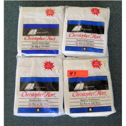 """Qty 4 Packages Christopher Hart Boxer Shorts Size 6XL (62""""-64"""")"""