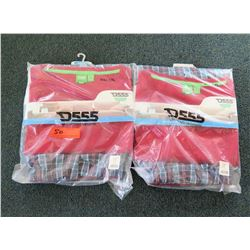 Qty 2 Packages D555 Evan King Size Loungewear Sets Size 6XL-7XL