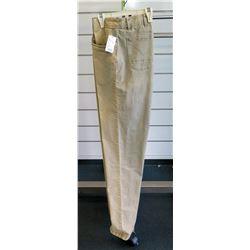 Khaki Light Brown Men's Long Pants Jeans Size 36