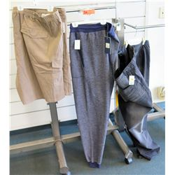 Men's Sweat Pants Size 5X, Gray Jeans Size 62 & Elastic Waist Shorts Size 8XL