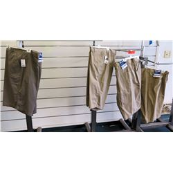 "Qty 4 Men's Shorts by Full Blue Khaki Colored Size 58""-60"""